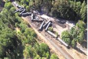 Tanker car derailment