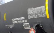 Tanker close up